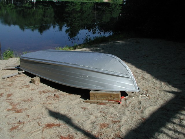metallic paint boat 2